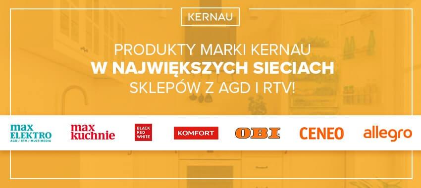 Produkty Kernau wsklepach online
