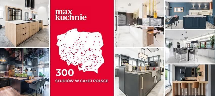 Sieć salonów kuchennych MaxKuchnie