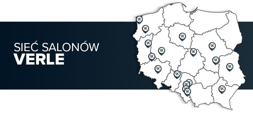 Sieć salonów meblowych Verle Küchen